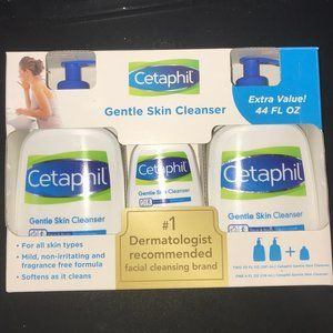 Cetaphil Gentle Skin Cleanser 3-pack